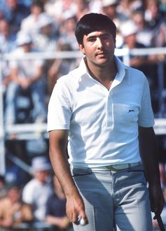 Seve Ballesteros at the 1977 Open Championship
