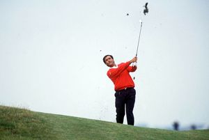 Seve Ballesteros during the 1988 Open.