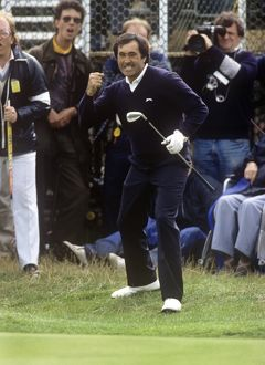 Seve Ballesteros wins The Open 1988