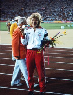Shirley Strong - 1984 Los Angeles Olympics