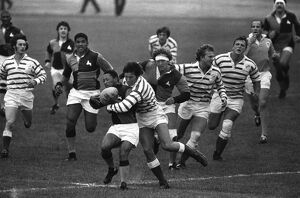 The South African Barbarians take on Devon in 1979
