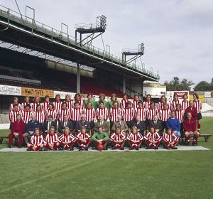 Southampton Full Squad Team Group 1973/74