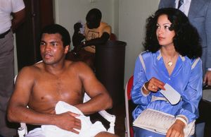 Spinks-Ali II - training session