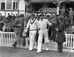 Stan McCabe and Don Bradman - 1930 Australia Tour of England