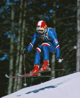 Stuart Fitzsimmons - 1976 Innsbruck Winter Olympics - Men's Downhill
