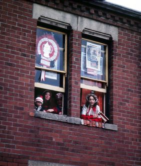Sunderland fans, 1973 FA Cup homecoming.