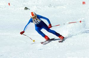 Theresa Wallis- 1976 Innsbruck Winter Olympics - Women's Downhill