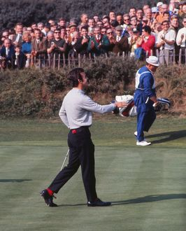 Tony Jacklin at the 1969 Ryder Cup