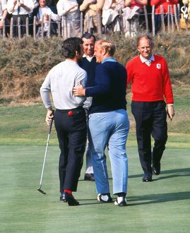 golf/tony jacklin jack nicklaus share laugh 1969 ryder