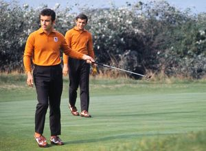 Tony Jacklin & Peter Townsend at the 1969 Ryder Cup
