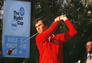 USA's Hubert Green at the 1977 Ryder Cup