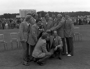 The victorious USA team - 1981 Ryder Cup
