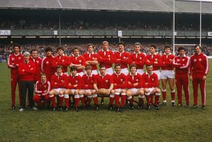 The Wales team that defeated England in the 1984 Five Nations