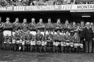 Wales team that defeated England in the 1985 Five Nations