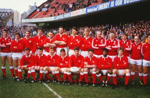 Wales team that defeated England in the 1987 Five Nations