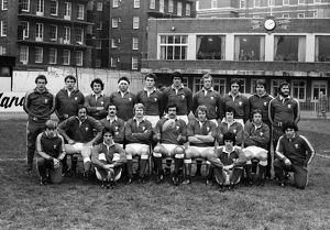 The Wales team that defeated France in the 1980 Five Nations