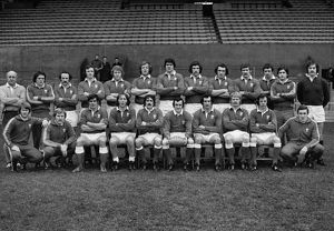 The Wales team that defeated Ireland in the 1977 Five Nations