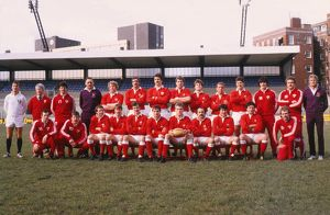 Wales team that defeated Ireland in the 1983 Five Nations