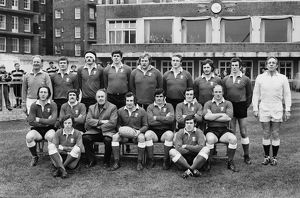 The Wales team that defeated Scotland in the 1974 Five Nations