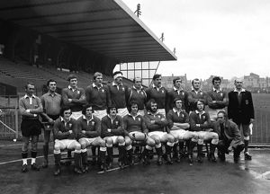 The Wales team that faced England in the 1973 Five Nations Championship