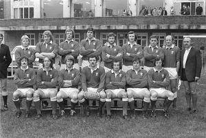 The Wales team that faced England in the 1975 Five Nations Championship