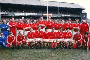 The Wales team that faced England in the 1982 Five Nations