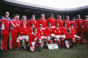The Wales team that faced France in the 1981 Five Nations