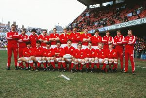 Wales team that faced France in the 1986 Five Nations