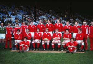 The Wales team that faced Scotland in the 1981 Five Nations